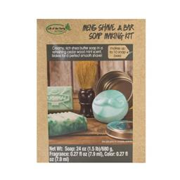 Life of the Party Mens Shave & Bar Soap Making Kit, 57053