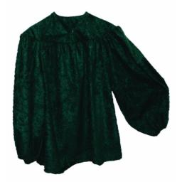 Alexanders Costumes Men's Renaissance Peasant Shirt, Green, One Size