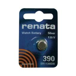 Silver Oxide Button Cell Battery 390 by Renata