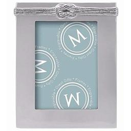 MARIPOSA Double Knot 5X7 Frame, Silver
