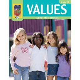 Didax Educational Resources Values Book for Grades 2-3