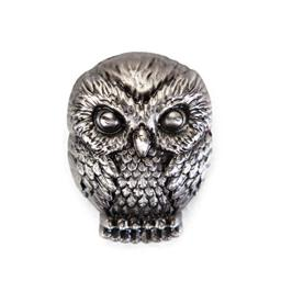 HARRY POTTER Hedwig Pewter Lapel Pin Novelty Accessory
