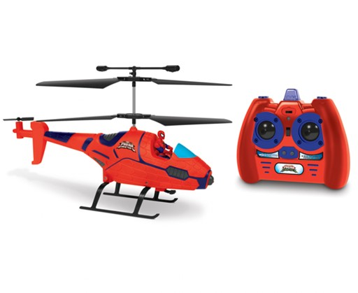3.5ch Spiderman with Figure Marvel IR Helicopter 9D07CCA90D85BED1