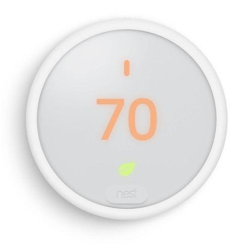 Nest Thermostat E White Programmable