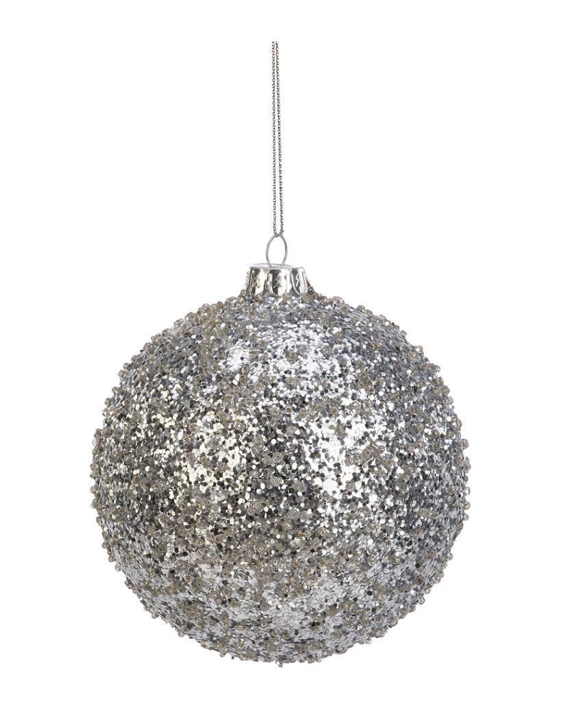 2-Tone Glitter Ornament