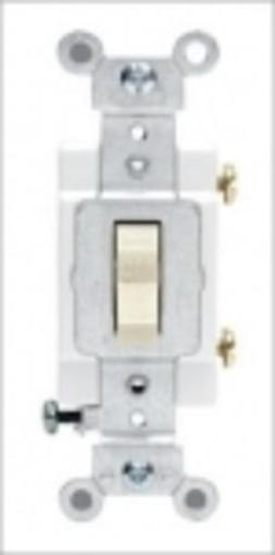 Leviton S01-cs120-2is Commercial Grade Quiet Toggle Switch 20amp