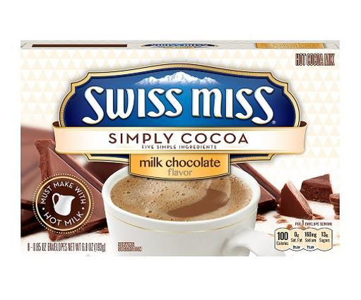 Swiss Miss Simply Cocoa Milk Chocolate Hot Cocoa Mix ACF51C3ABD66DDCE