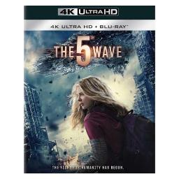 5th wave (blu-ray/4k-uhd/mastered/combo/ultraviolet/2 disc) BR47407
