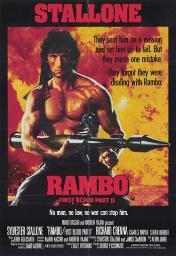 Rambo First Blood Part 2 Movie Poster (11 x 17) MOV213073