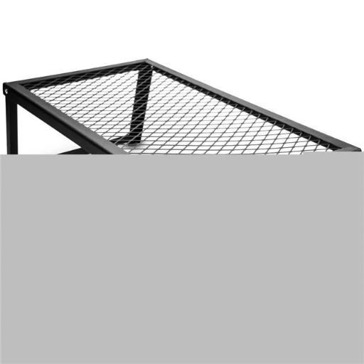 Brybelly SCAM-201 Steel Mesh Over Fire Camping Grill Gate, Personal Size