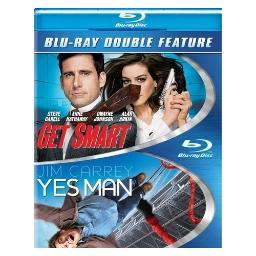 Get smart/yes man (blu-ray/dbfe) BR376482
