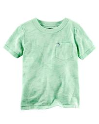 Carter's Baby Boys' Tonal Floral Graphic Tee, 9 Months