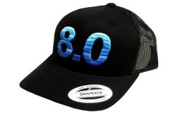 watch 2a857 d9886 HOOey Hat Mens Baseball Cap 8.0 Roughy Snapback 4113T