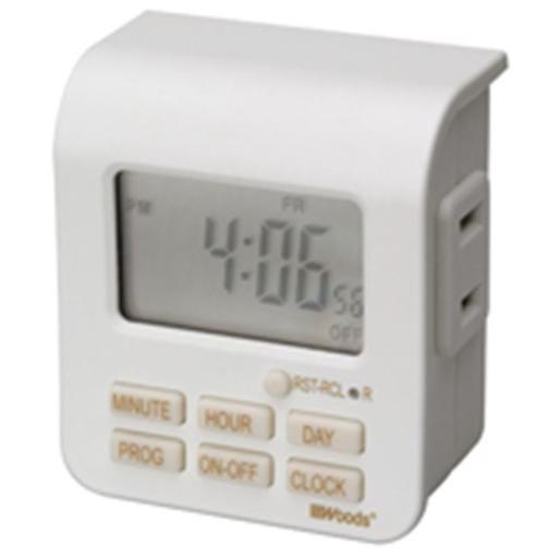 Coleman Cable 50008 Indoor Digital Timer