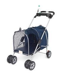 "KITTYWALK KWPS5AVE Blue KITTYWALK 5TH AVE LUXURY PET STROLLER BLUE 26"" X 14"" X 35.5"