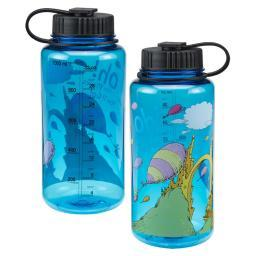 "Dr. Seuss ""Oh the Places You'll Go"" 32 oz. Tritan Water Bottle Book Movie"