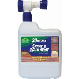 30 Seconds 7687882 64 oz Spray & Walk Away Lichen, Moss, Mold & Algae Killer