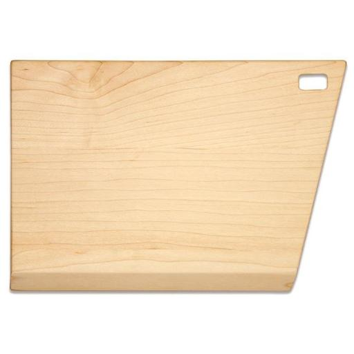 Martins Furniture 81402M Maple Slant Cutting Board - 8 x 12 x 0.75 in.
