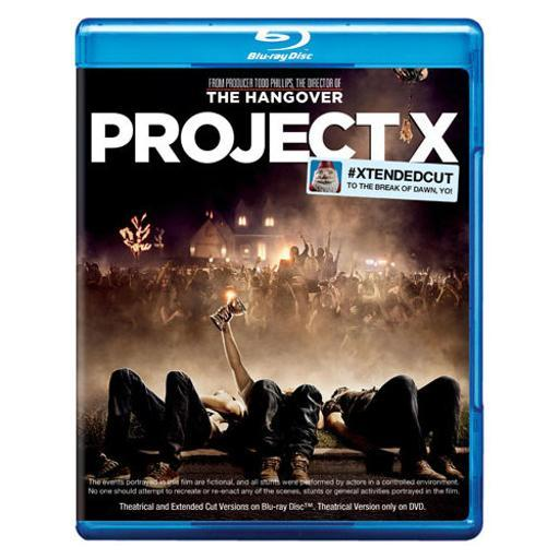 Project x (2012/blu-ray/dvd/2 disc) XXGCKXS0FAWSUYAY