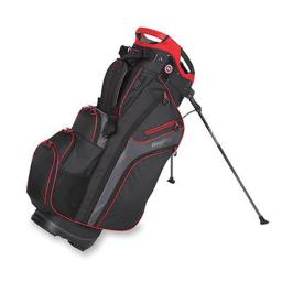 Bag Boy Bb36191 Chiller Hybrid Stand Bag - Black, Charcoal & Red