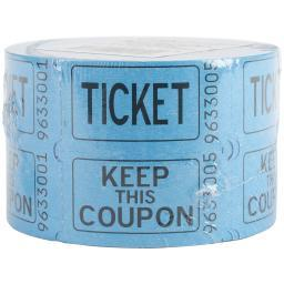 Double Tickets 500 Tickets/Roll Assorted