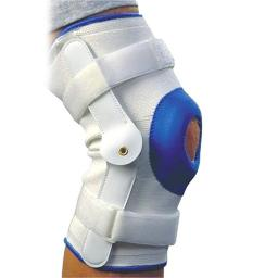 Alex Orthopedic 3636M Deluxe Compression Knee Support with Hinge - Medium