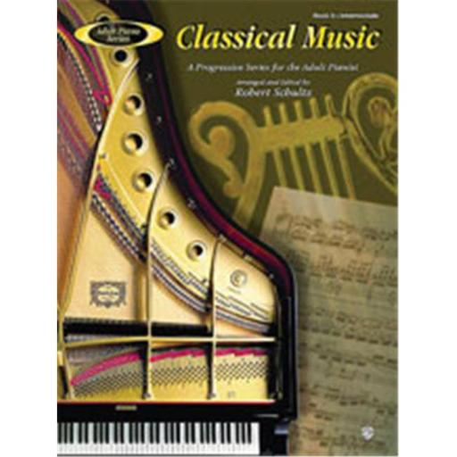 Alfred 00-AFM01025 Adult Piano Series- Classical Music- Book 3 - Music Book