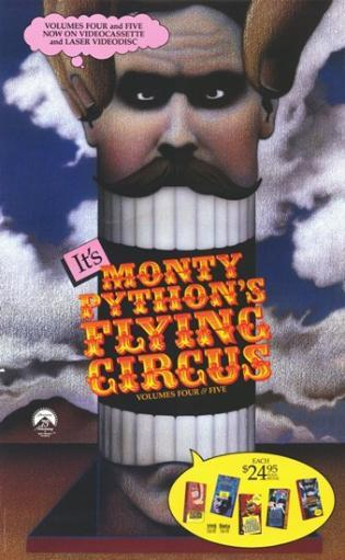 Monty Python's Flying Circus Movie Poster (11 x 17) BCGK85TOBVLWPRHI