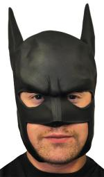 Rubie'S Costume Co Men'S Batman Begins Adult Batman Mask, Black, One Size RU12467