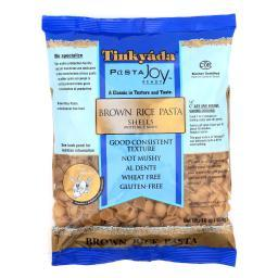 Tinkyada Brown Rice Pasta - Shells - Case of 12 - 16 oz.