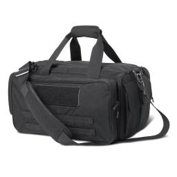 Cannae Pro Gear Duffle Bag Tactical Armory Range Bag - Black