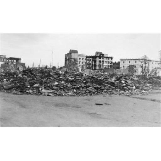 Posterazzi SAL9904451 Rubble of Buildings After an Earthquake Yokohama Japan Poster Print - 18 x 24 in.