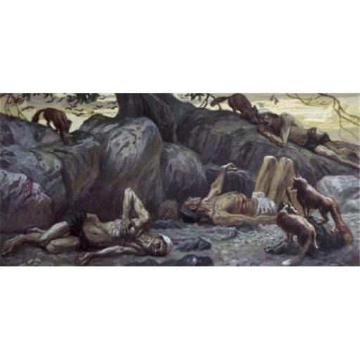 Posterazzi SAL999440 They Shall Fall by the Sword James J. Tissot 1836-1902 French Jewish Museum New York Poster Print - 18 x 24 in.