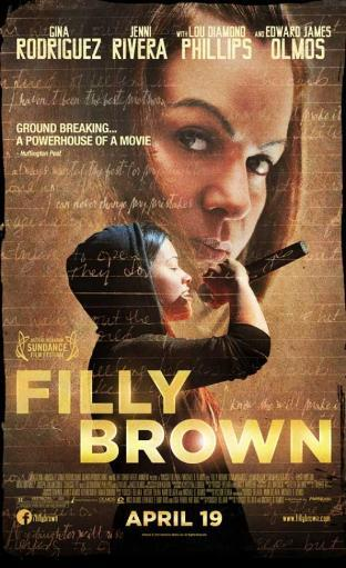Filly Brown Movie Poster (11 x 17) UE9OABO7XQXRFAPK