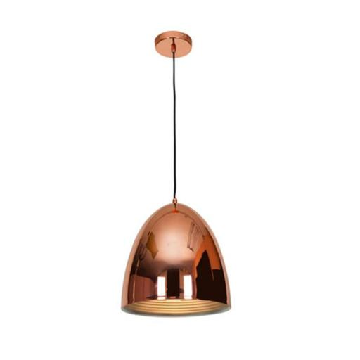 Access Lighting 28091-BCP 12 in. Essence 1 Light Brushed Copper Pendant Ceiling Light