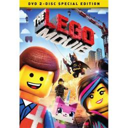 LEGO MOVIE (2014/DVD/2 DISC SPECIAL EDITION/WS) 883929387526