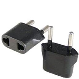 AGM Distribution Adapter-WPRO-Plug-S-9A Wonpro S-9A Power Plug Adaptor for European Outlets - not for UK -