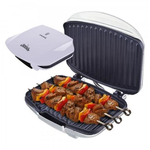 Courant CCG-5681 Grill Champ Contact Grill 4 Servings, White