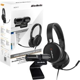 Avermedia technologies inc bo317 video conferencing kit 317 capture all the details