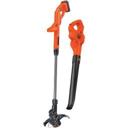 Black And Decker Lcc221 20-Volt Max* Lithium 10 String Trimmer/Edger & Hard Surface Sweeper Combo Kit