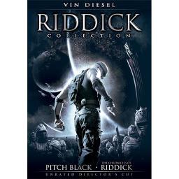 RIDDICK COLLECTION (DVD) (2DISCS) 25192190643