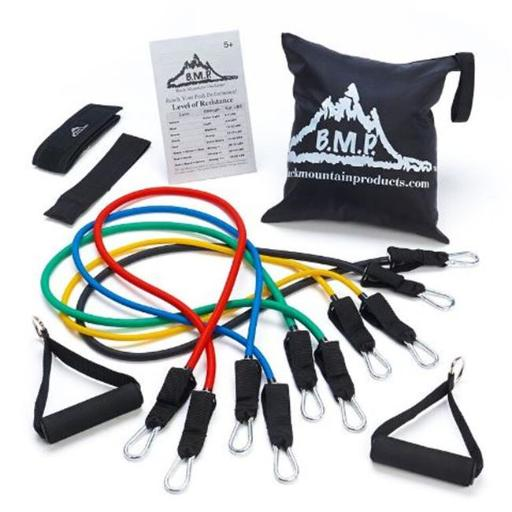 Black Mountain Products BMP 5M Exercise Resistance 5 Band Set