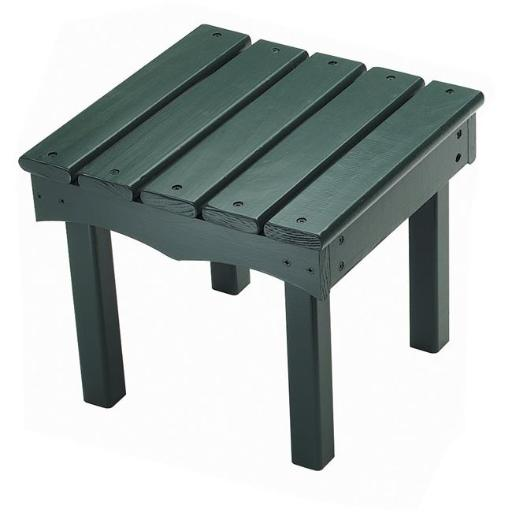 Little Colorado 142GRN Childs Adirondack End Table, Green