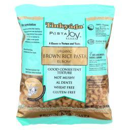Tinkyada Organic Brown Rice Pasta - Elbows - Case of 12 - 12 oz.
