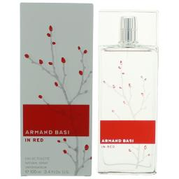 Armand Basi in Red by Armand Basi, 3.4 oz EDT Spray for Women