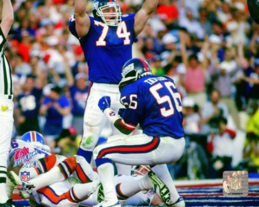Lawrence Taylor Super Bowl XXI Action 1987 Photo Print