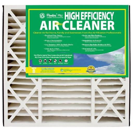Precisionaire 82655.031625 High Efficiency Air Bear Cleaner Filter 16 x 25 x 3 in. - pack of 3