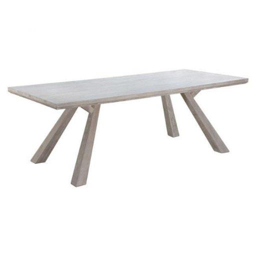 Zuo Modern 100742 Beaumont Rectangular Dining Table, Sun Drenched Acacia