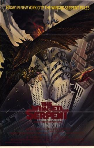 Q (The Winged Serpent) Movie Poster (11 x 17) 18AOUX7EOZUJN2P2