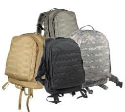 Rothco MOLLE 3 Day Assault Pack, Large Backpack Available in Multiple Colors 40159